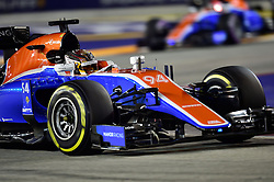 September 16, 2016 - Singapur, Singapur - Motorsports: FIA Formula One World Championship 2016, Grand Prix of Singapore, .#94 Pascal Wehrlein (GER, Manor Racing F1 Team) (Credit Image: © Hoch Zwei via ZUMA Wire)