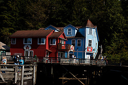Creek Street, Ketchikan, Alaska, United States of America