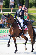 Timna Zach - Glock's Federleicht<br /> FEI European Dressage Championships for Young Riders and Juniors 2013<br /> © DigiShots