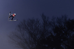 02.02.2019, Heini Klopfer Skiflugschanze, Oberstdorf, GER, FIS Weltcup Skiflug, Oberstdorf, im Bild Yukiya Sato (JPN) // Yukiya Sato of Japan during his Jump of FIS Ski Jumping World Cup at the Heini Klopfer Skiflugschanze in Oberstdorf, Germany on 2019/02/02. EXPA Pictures © 2019, PhotoCredit: EXPA/ JFK