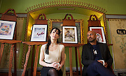 English National Ballet announces 2014 Season and New Barbican performances<br /> photocall & press conference <br /> at The Dorchester Hotel, London, Great Britain <br /> 10th June 2013 <br /> <br /> Tamara Rojo (artistic director / dancer)<br /> Akram Khan (choreographer)<br /> <br /> Le Corsaire<br /> Nutcracker<br /> Lest We Forget <br /> My First Ballet: Coppelia<br /> Choreographics<br /> Emerging Dancer 2014<br /> Romeo & Juliet <br /> Coppelia<br /> <br /> <br /> <br /> <br /> Photograph by Elliott Franks
