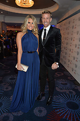 DANIELLE ARMSTRONG and DAN SPILLER at the Chain of Hope Gala Ball held at The Grosvenor House Hotel, Park Lane, London on 18th November 2016.