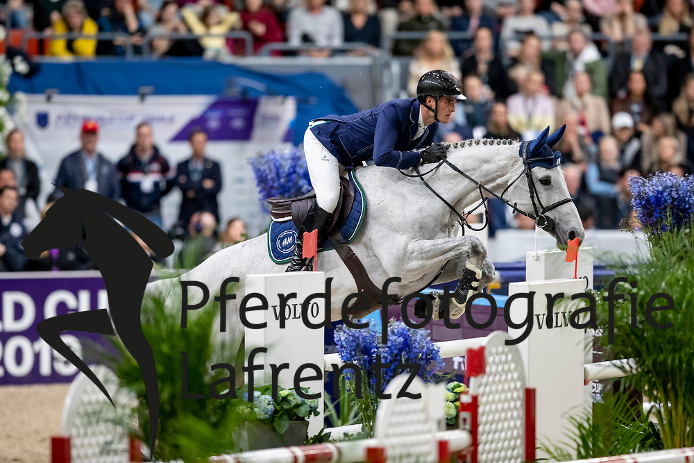 PHILIPPAERTS Olivier (BEL), H&M Legend Of Love<br /> Göteborg - Gothenburg Horse Show 2019 <br /> Longines FEI World Cup™ Final II<br /> Int. jumping competition with jump-off (1.50 - 1.60 m)<br /> Longines FEI Jumping World Cup™ Final and FEI Dressage World Cup™ Final<br /> 05. April 2019<br /> © www.sportfotos-lafrentz.de/Stefan Lafrentz