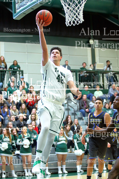 07 December 2016:  Alec Bausch during an NCAA men's division 3 CCIW basketball game between the North Park Vikings and the Illinois Wesleyan Titans in Shirk Center, Bloomington IL