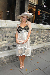 ELLIE SHEPHERD at the wedding of Chloe Delevingne to Louis Buckworth at St.Paul's Knightsbridge, London on 7th September 2007.<br /><br />NON EXCLUSIVE - WORLD RIGHTS
