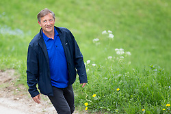 Planet TV interviews Karl Erjavec before the elections, on May 1st, 2018 at Sveti Jost nad Kranjem, Slovenia. Photo by Urban Urbanc / Sportida