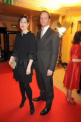 GINA McKEE and RUPERT PENRY-JONES at the 2009 South Bank Show Awards held at The Dorchester, Park Lane, London on 20th January 2009.