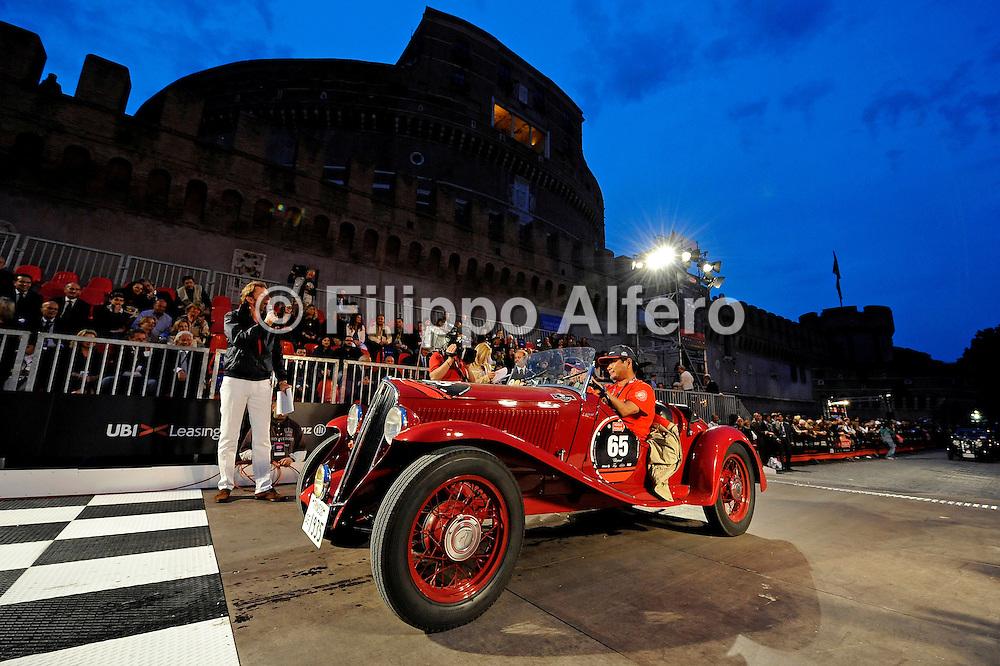 &copy; Filippo Alfero<br /> Brescia - Roma - Brescia, 15,16,17/05/2008<br /> motori<br /> 1000Miglia 2008