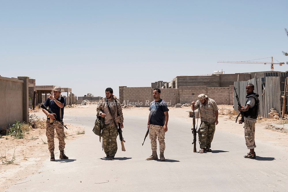 Libya: Libya's Government of National Accord's (GNA) fighters are seen in 700 neighbourhood in Sirte. Alessio Romenzi