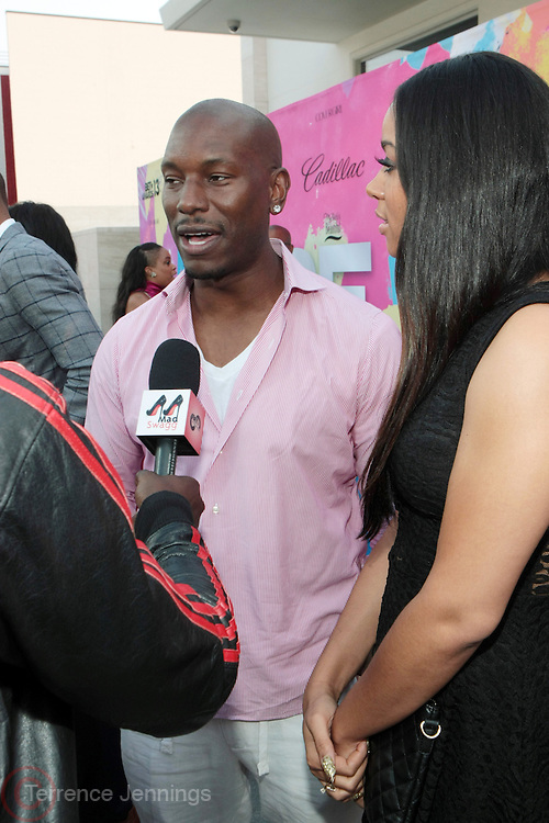 """Los Angeles, CA-June 29:  (L-R)Recording Artist Tyrese and Guest attend the Seventh Annual """" Pre """" Dinner celebrating BET Awards hosted by BET Network/CEO Debra L. Lee held at Miulk Studios on June 29, 2013 in Los Angeles, CA. © Terrence Jennings"""