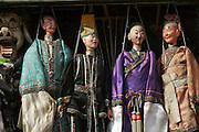 Liulichang art and antiquities street. Puppets.