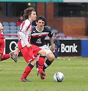 Chris Johnston and James Thomson - Dundee v Kilmarnock -  Clydesdale Bank Scottish Premier League . .© David Young - www.davidyoungphoto.co.uk - email: davidyoungphoto@gmail.com