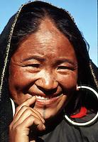 Woman in Nepal.