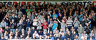 Newcastle United fans chant the name of Newcastle United manager Rafa Benitez during the Barclays Premier League match at St. James's Park, Newcastle<br /> Picture by Simon Moore/Focus Images Ltd 07807 671782<br /> 15/05/2016