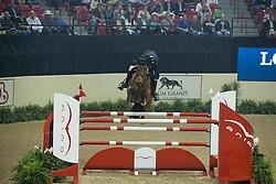 Verlooy Jos, (BEL), Domino<br /> Longines FEI World Cup™ Jumping Final I<br /> Las Vegas 2015<br />  © Hippo Foto - Dirk Caremans<br /> 17/04/15