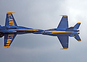 Blue Angels show at annual Seafair Festival. Greg Gilbert / The Seattle Times