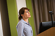 Flying the Green Campus Flag in Cork<br /> Aoife O&rsquo;Connell, Cork University Hospital, speaking at Sligo University Hospital and Institute of Technology Sligo, Sustainability Seminar. <br /> Photo: James Connolly<br /> 07SEP17