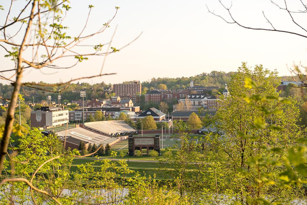 Campus Beauty Overlook Peden Stadium East Green