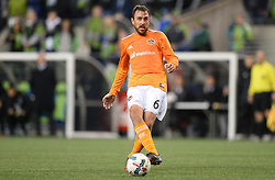 November 30, 2017 - Seattle, Washington, U.S - Soccer 2017: ERIC ALEXANDER (6) in action as the Houston Dynamo play the Seattle Sounders in the 2nd leg of the MLS Western Conference Finals match at Century Link Field in Seattle, WA. (Credit Image: © Jeff Halstead via ZUMA Wire)
