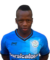 Cheick Fantamady Diarra during photocall of Tours FC for new season of Ligue 2 on October 9th 2016<br /> Photo : Fct / Icon Sport