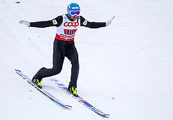 24.02.2013, Skisprungstadion, Predazzo, ITA, FIS Weltmeisterschaften Ski Nordisch, Nordische Kombination, Team, Skisprung HS 106, im Bild Wilhelm Denifl (AUT) // Wilhelm Denifl of Austria during Mens Nordic Combined HS 106 Team Skijump competition of the FIS Nordic Ski World Championships 2013 at the Skijumping Stadium, Predazzo, Italy on 2013/02/24. EXPA Pictures © 2013, PhotoCredit: EXPA/ Juergen Feichter