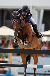 Whitaker Michael, GBR, Calisto Blue<br /> Rolex Grand Prix CSI 5* - Knokke 2017<br /> © Dirk Caremans<br /> 09/07/17