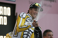 Sykkel<br /> Giro di Italia<br /> 15.05.2009<br /> Foto: Photonews/Digitalsport<br /> NORWAY ONLY<br /> <br /> Chiavenna - wielrennen - cycling - radsport - cyclisme - 7e etappe - 100 jaar Giro di Italia - Innsbruck > Chiavenna - Edvald Boasson Hagen (Noorwegen/Team Columbia High Road)