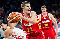 Semen Antonov of Russia during basketball match between National Teams of Croatia and Russia at Day 11 in Round of 16 of the FIBA EuroBasket 2017 at Sinan Erdem Dome in Istanbul, Turkey on September 10, 2017. Photo by Vid Ponikvar / Sportida