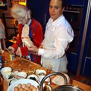 Nieuwjaarshow Staatsloterij, Frans Bauer kookt in de keuken