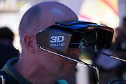 Photokina 2010, World's biggest bi-annual photo fair. Panasonic 3D products.