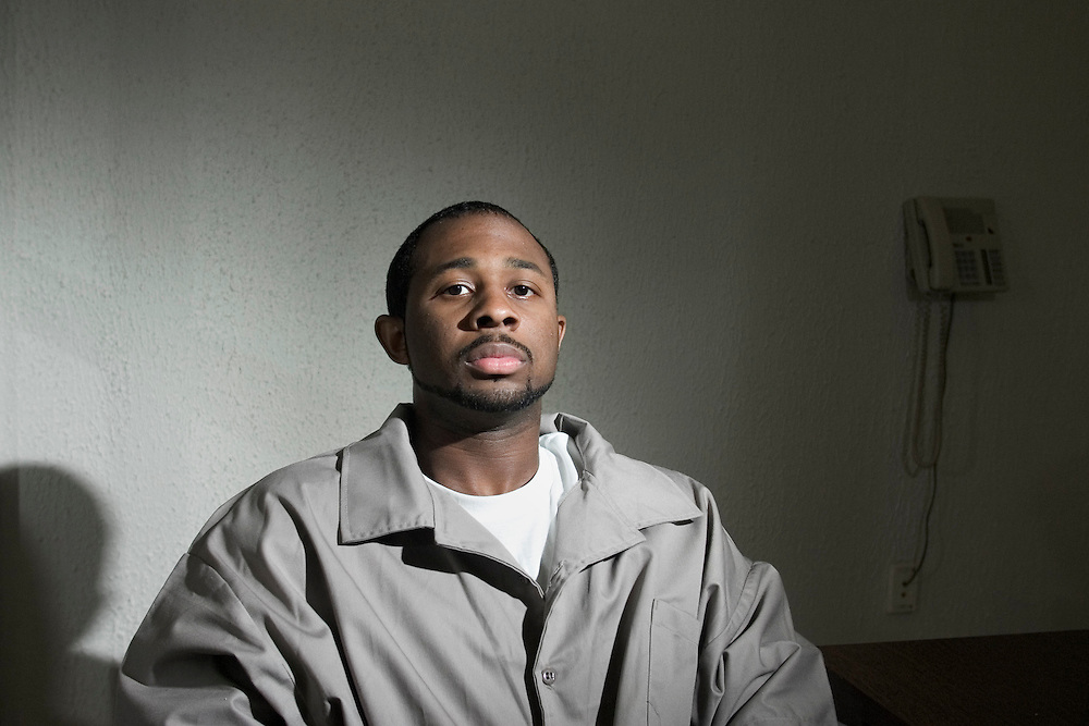 Erick Daniels inside the Foothills Correctional Institution outside of Morganton, NC, where he was incarcerated for five years.