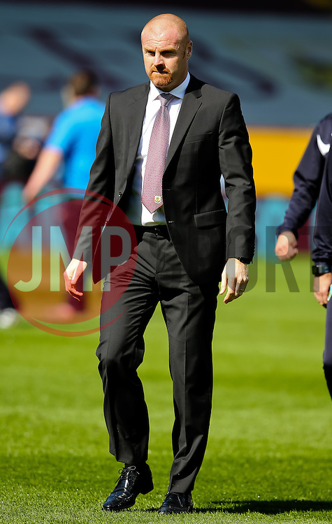 Burnley Manager, Sean Dyche  - Photo mandatory by-line: Matt McNulty/JMP - Mobile: 07966 386802 - 05/04/2015 - SPORT - Football - Burnley - Turf Moor - Burnley v Tottenham Hotspur - Barclays Premier League