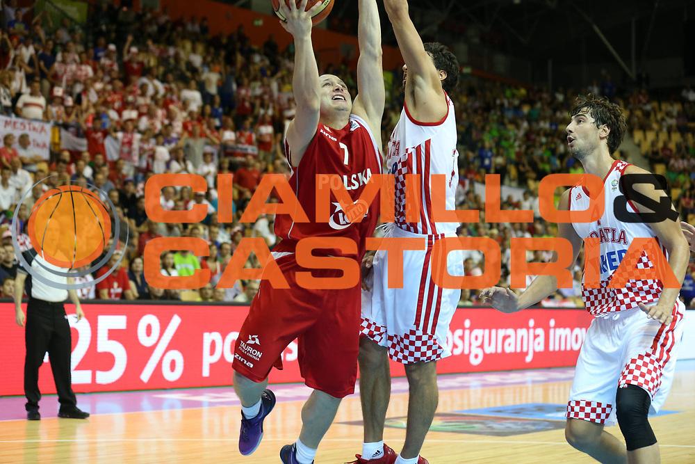 DESCRIZIONE : Celje Slovenia Eurobasket Men 2013 Preliminary Round Croazia Polonia Croatia Poland<br /> GIOCATORE : Krzystzov Szubarga<br /> CATEGORIA : tiro shot<br /> SQUADRA : Polonia Poland<br /> EVENTO : Eurobasket Men 2013<br /> GARA : Croazia Polonia Croatia Poland<br /> DATA : 07/09/2013 <br /> SPORT : Pallacanestro <br /> AUTORE : Agenzia Ciamillo-Castoria/ElioCastoria<br /> Galleria : Eurobasket Men 2013<br /> Fotonotizia : Celje Slovenia Eurobasket Men 2013 Preliminary Round Croazia Polonia Croatia Poland<br /> Predefinita :
