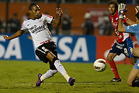 20120307: SAO PAULO, BRAZIL - Player  Liedson and Don during Corinthians (Brasil) vs Nacional (Paraguai) for Copa Libertadores held at Pacaembu stadium in SP<br />