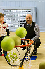 Patrick Harvie has a ball | Edinburgh | 29 March 2016