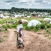 28/05/2014. Cameroon. Gbiti. Gbiti site hosts 14,000 refugees who arrived from CAR in the last 5 months after weeks of walk on the bush. ©WFP/Sylvain Cherkaoui