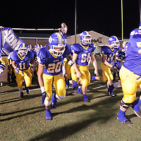 Adam Robison | BUY AT PHOTOS.DJOURNAL.COM<br /> Boonveille takes the field to play Nettleton Thursday night.