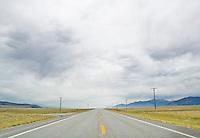 Highway 287 in Southwestern Montana, USA.