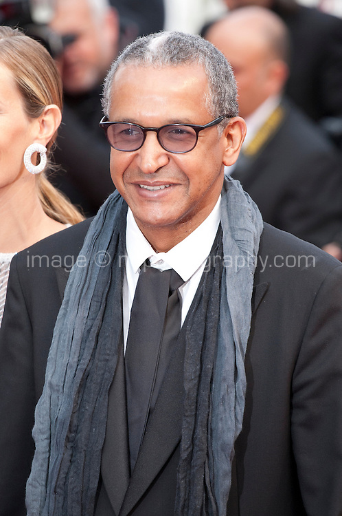 Abderrahmane Sissako at the Closing ceremony and premiere of La Glace Et Le Ciel at the 68th Cannes Film Festival, Sunday 24th May 2015, Cannes, France.