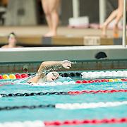 15 October 2015 - The San Diego State Aztecs Women's Swim & Dive Team took on Oregon State and Vanderbilt at the Aztec Aquaplex. 1000 yard Freestyle Lane 9
