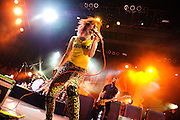 Paramore performs at The Bamboozle music festival, East Rutherford NJ, May 1, 2010.