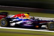 German Grand Prix<br /> <br /> Sebstian Vettel in his Red Bull RB9 at the 2013 German grand prix at the Nurburgring. <br /> ©Darren Heath/exclusivepix