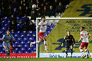 Matt Crooks of Rotherham United (17) clears a corner during the EFL Sky Bet League 1 match between Coventry City and Rotherham United at the Trillion Trophy Stadium, Birmingham, England on 25 February 2020.