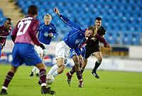 Fotball, 15. oktober 2003, UEFA - cupen, 1 runde, Molde Stadion, Molde-Leiria, Bernt Hulsker, Molde