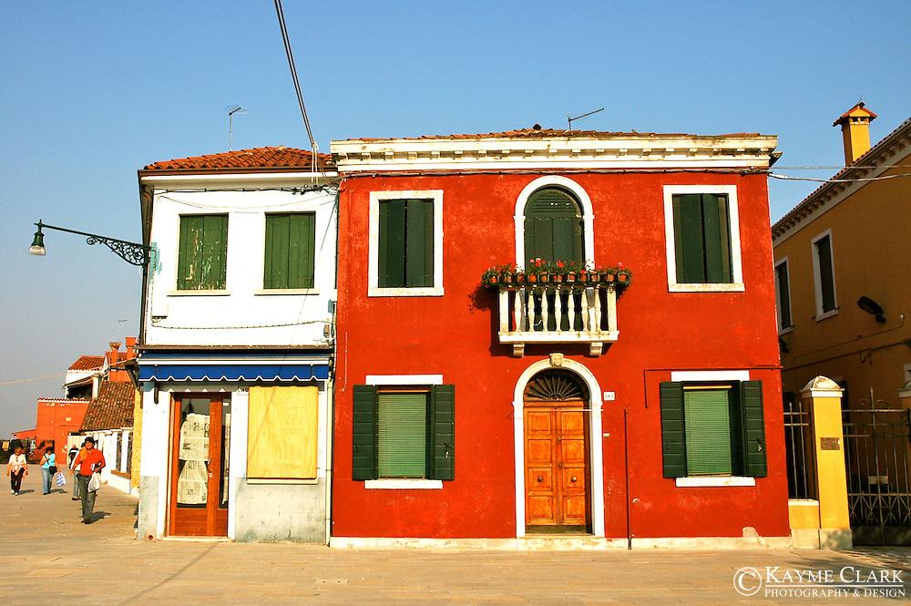 Burano Island - Venetian Lagoon, Venice, Italy, Europe