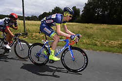 July 12, 2017 - Pau, France - Pau, France - July 12 : BACKAERT Frederik of Wanty - Groupe Gobert during stage 11 of the 104th edition of the 2017 Tour de France cycling race, a stage of 203.5 kms between Eymet and Pau on July 12, 2017 in Pau, France, 12/07/2017 (Credit Image: © Panoramic via ZUMA Press)