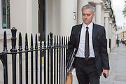 UNITED KINGDOM, London: 26 May 2016 Former Chelsea manager Jose Mourinho returns to his house in London after allegedly signing a contract with Manchester United. Andrew Cowie / Story Picture Agency
