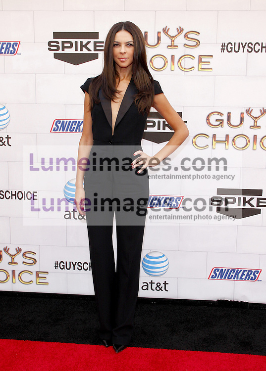 Terri Seymour at the 2012 Spike TV's Guys Choice Awards held at the Sony Studios in Culver City on June 2, 2012. Credit: Lumeimages.com