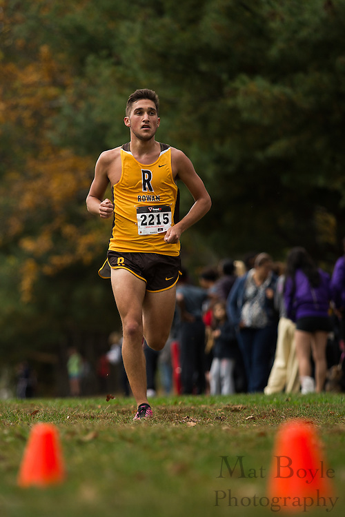 Rowan University Alec Lippincott - Collegiate Track Conference  Cross-Country Men's Championship at Gloucester County College in Sewell, NJ on Saturday October 19, 2013. (photo / Mat Boyle)