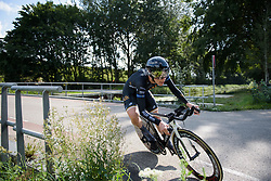 Emilia Fahlin at Boels Rental Ladies Tour Stage 3 a 16.9 km individual time trial in Roosendaal, Netherlands on August 31, 2017. (Photo by Sean Robinson/Velofocus)